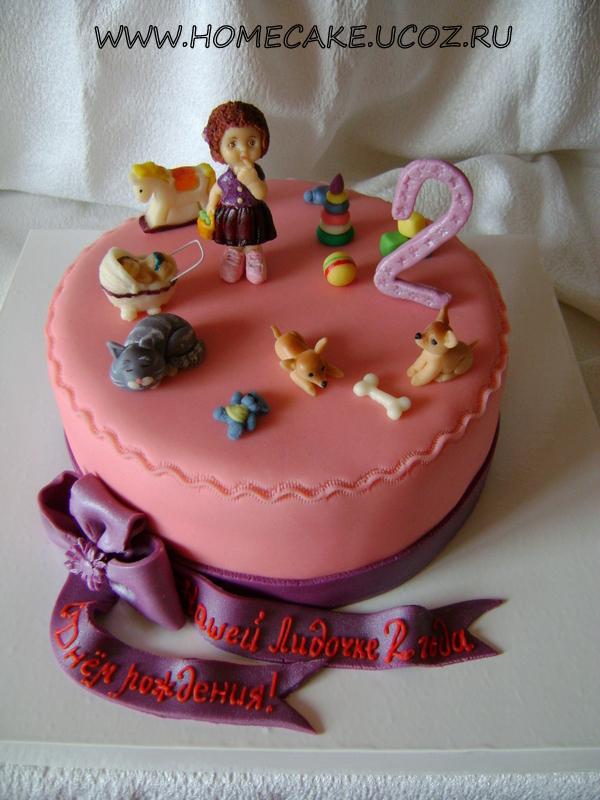 Детские торты торт на 2 годика торт на 2