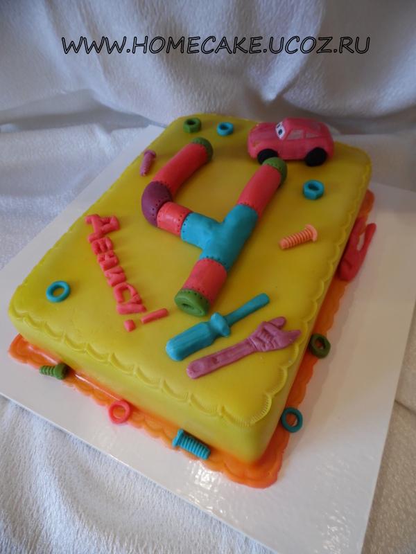 Торт для мальчика 8 лет фото своими руками